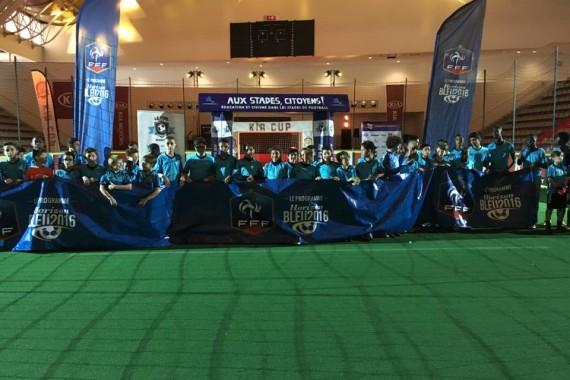 Les équipes de la Five académie au tournoi de Paris Foot Week